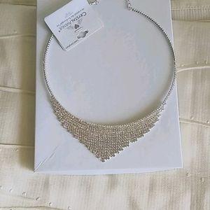 Crystal Necklace Sparkles like diamonds.